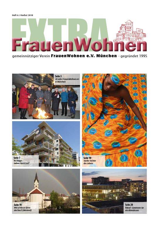 Die Zeitschrift des FrauenWohne e.V., Ausgabe 2018